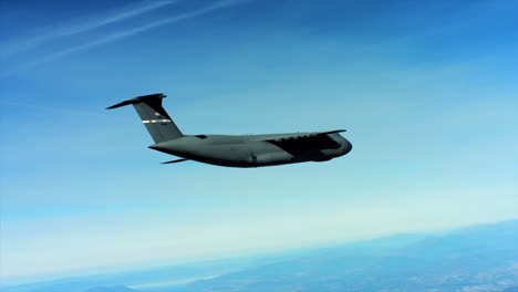 Aerials-Of-The-Us-Air-Force-Air-Mobility-Command-C5-In-Flight-3