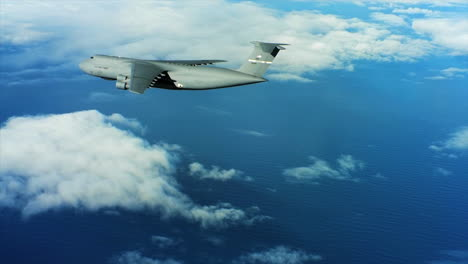 Aerials-Of-The-Us-Air-Force-Air-Mobility-Command-C5-In-Flight-9