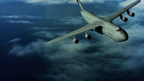 Aerials-Of-The-Us-Air-Force-Air-Mobility-Command-C5-In-Flight-12