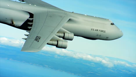 Aerials-Of-The-Us-Air-Force-Air-Mobility-Command-C5-In-Flight-15
