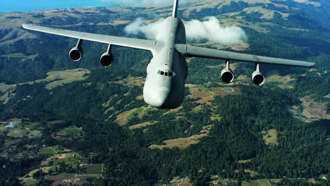 Aerials-Of-The-Us-Air-Force-Air-Mobility-Command-C5-In-Flight-17
