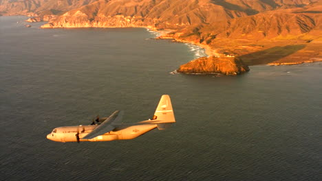 Aerials-Of-The-Us-Air-Force-Air-Mobility-Command-C130J-In-Flight-13