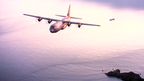 Aerials-Of-The-Us-Air-Force-Air-Mobility-Command-C130J-In-Flight-16