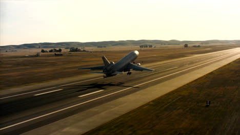 Aerials-Of-The-Us-Air-Force-Air-Mobility-Command-Kc10-Taking-Off