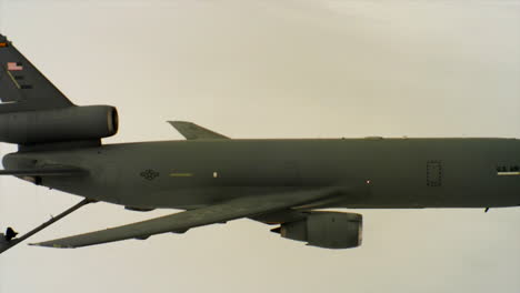 Aerials-Of-The-Us-Air-Force-Air-Mobility-Command-Kc10-Refueling-Another-Plane-In-Midair