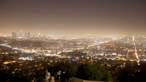 Griffith-View-of-LA-Skyline-at-Night
