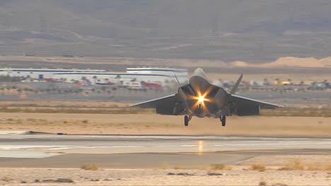 An-Air-Force-F35-Fighter-Jet-Landing