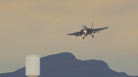 Air-Force-F15-Jet-Coming-In-For-Landing