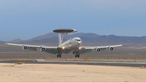 Air-Force-E3-Sentry-Landing