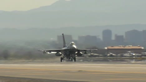 F16-Fighter-Jet-Takes-Off-From-Nellis-Air-Force-Base-In-Las-Vegas-1