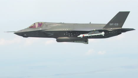 An-F35-Lightning-Drops-Bombs-From-A-High-Altitude