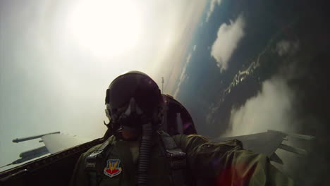 Pov-Shots-From-The-Cockpit-Of-A-Fighter-Plane-Doing-Barrel-Rolls-2