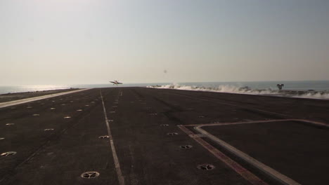Various-Jet-Aircraft-Take-Off-From-The-Deck-Of-An-Aircraft-Carrier-2