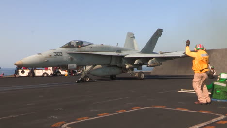 Various-Jet-Aircraft-Take-Off-From-The-Deck-Of-An-Aircraft-Carrier-3