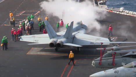 Various-Jet-Aircraft-Take-Off-From-The-Deck-Of-An-Aircraft-Carrier-6