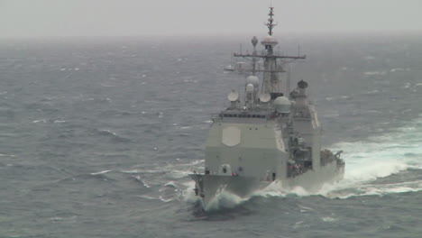 A-Military-Supply-Ship-On-The-High-Seas