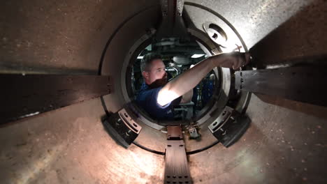 Actividades-A-Bordo-De-Un-Submarino-Nuclear-Americano