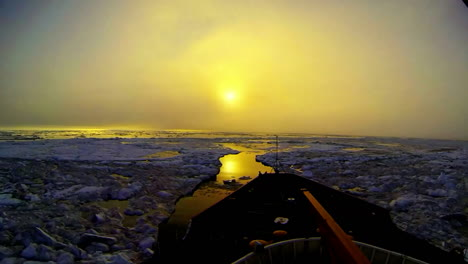 Time-Lapse-Shot-From-Bow-Of-Icebreaker-Vessel-Through-The-Arctic-1