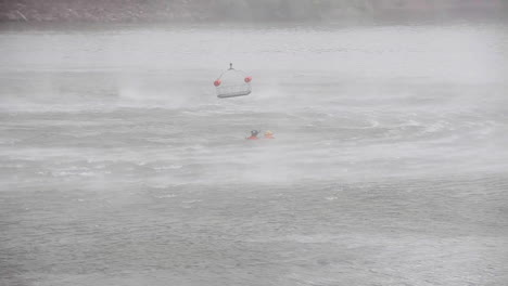 Coast-Guard-Search-And-Rescue-Team-Medevacs-An-Injured-Boater-From-An-Accident