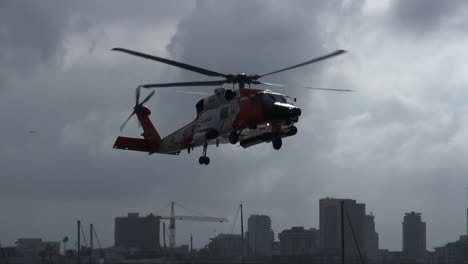 Coast-Guard-Helicopter-Lands-At-Landing-Site-And-Injured-People-Are-Taken-By-Paramedics-To-Hospital-4