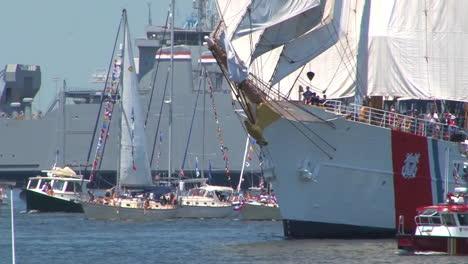 Coast-Guard-Tall-Ships-Enter-Norfolk-Harbor-Va