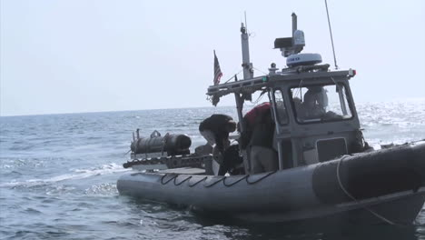 The-Navy-Tests-Unmanned-Underwater-Vehicles-In-Bahrain