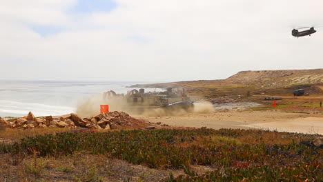 Japanese-Marines-Use-Amphibious-Assault-Craft-For-Landing-On-A-Beach-1