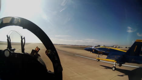 Pov-Shot-From-The-Cockpit-Of-The-Blue-Angels-Jets-At-An-Airshow
