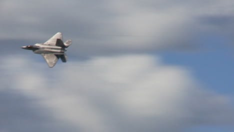 An-F15-Fighter-Jet-Performs-Stunts-At-An-Airshow
