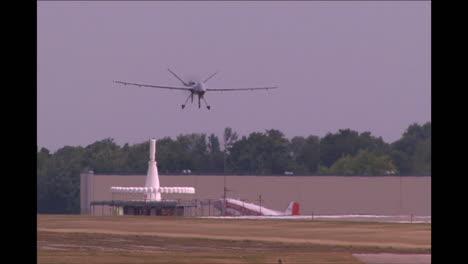 The-Rq4-Drone-Surveillance-Aircraft-Landing
