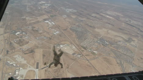 Paratroopers-Jump-From-An-Airplane-1