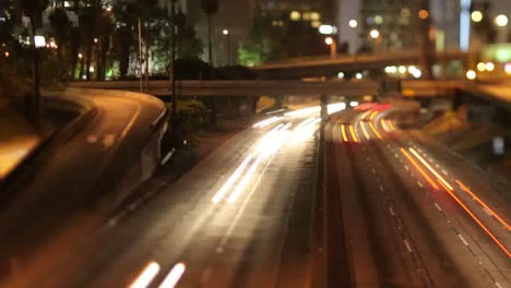 La-Freeway-Night-Tilt-Shift