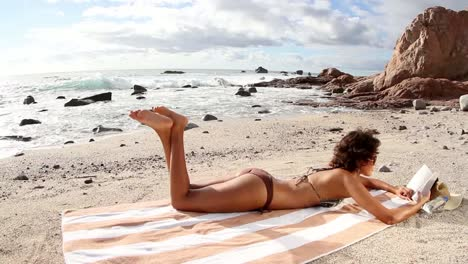 Woman-Relaxing-on-a-Beach-0-28