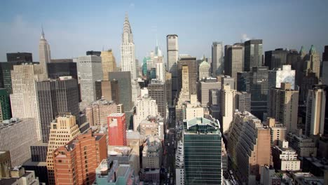 Manhattan-Skyline-View-Morning