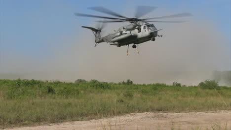 El-Helicóptero-Sikorsky-Ch53-En-Acción