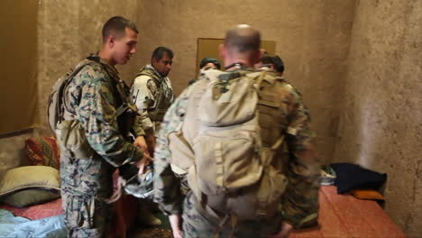 Marines-Role-Play-At-A-Simulated-Afghan-Compound-To-Mimic-Situations-They-May-Face-In-Afghanistan-2