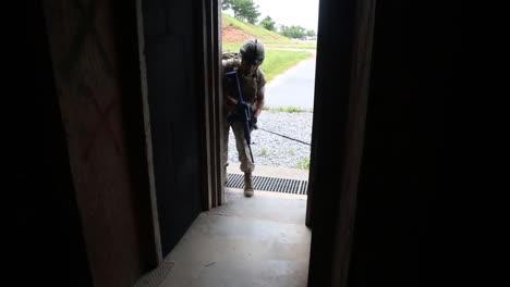Bombenspürhunde-Werden-Von-Der-US-Armee-Darauf-Trainiert-Bomben-In-Terroristenverstecken-Zu-Entdecken