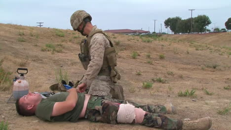 Marines-And-Sailors-Are-Trained-In-Life-Saving-Skills
