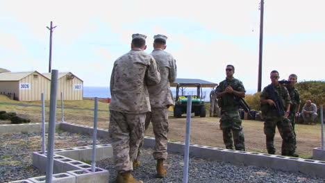 Marines-And-Army-Troops-Train-In-Standard-Clearing-Procedures-In-A-Simulated-Building-1