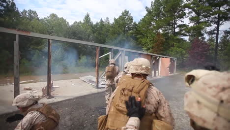 Us-Marines-And-Navy-Seals-Conduct-A-Raid-Of-A-Simulated-Terrorist-Compound-18