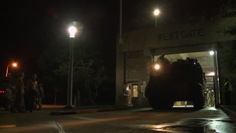 Police-And-Marines-Roll-Out-Armored-Vehicles-During-Times-Of-Public-Unrest-And-Rioting