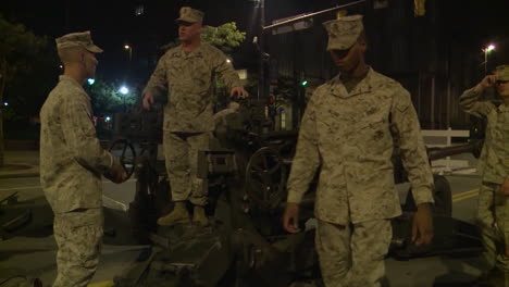 Police-And-Marines-Roll-Artillery-In-An-American-City-During-Times-Of-Public-Unrest-And-Rioting