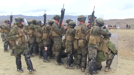 Troops-Practice-Shooting-Protestors-In-A-Mock-Exercise
