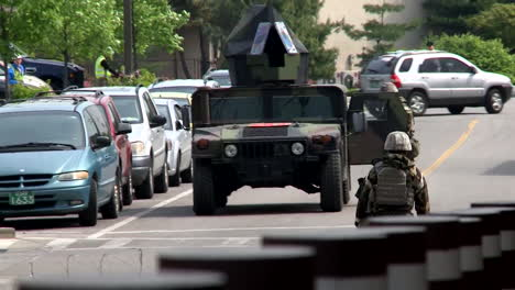 Us-Troops-Practice-For-A-Mass-Shooting-Incident-At-A-School-Or-Military-Base-8