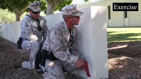 Us-Troops-Practice-For-A-Mass-Shooting-Incident-At-A-School-Or-College-Campus-2