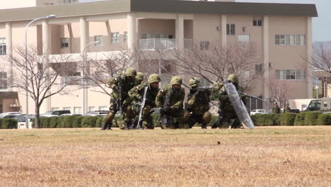 A-Marine-Swat-Team-Performs-A-Simulated-Hostage-Rescue-Mission