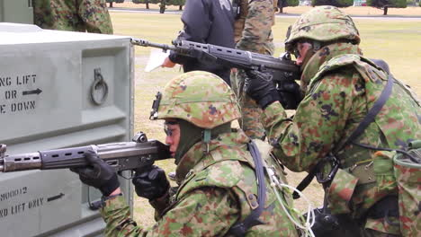 A-Marine-Swat-Team-Performs-A-Simulated-Hostage-Rescue-Mission-1