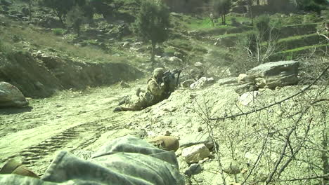 Us-Troops-Come-Under-Fire-While-On-Patrol-In-Afghanistan