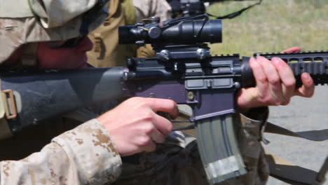 Soldiers-Practice-Firing-Their-Weapons-On-The-Firing-Range-6