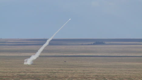 Himars-Mobile-Rocket-Launcher-System-Is-Fired-From-The-Deserts-Of-The-Middle-East